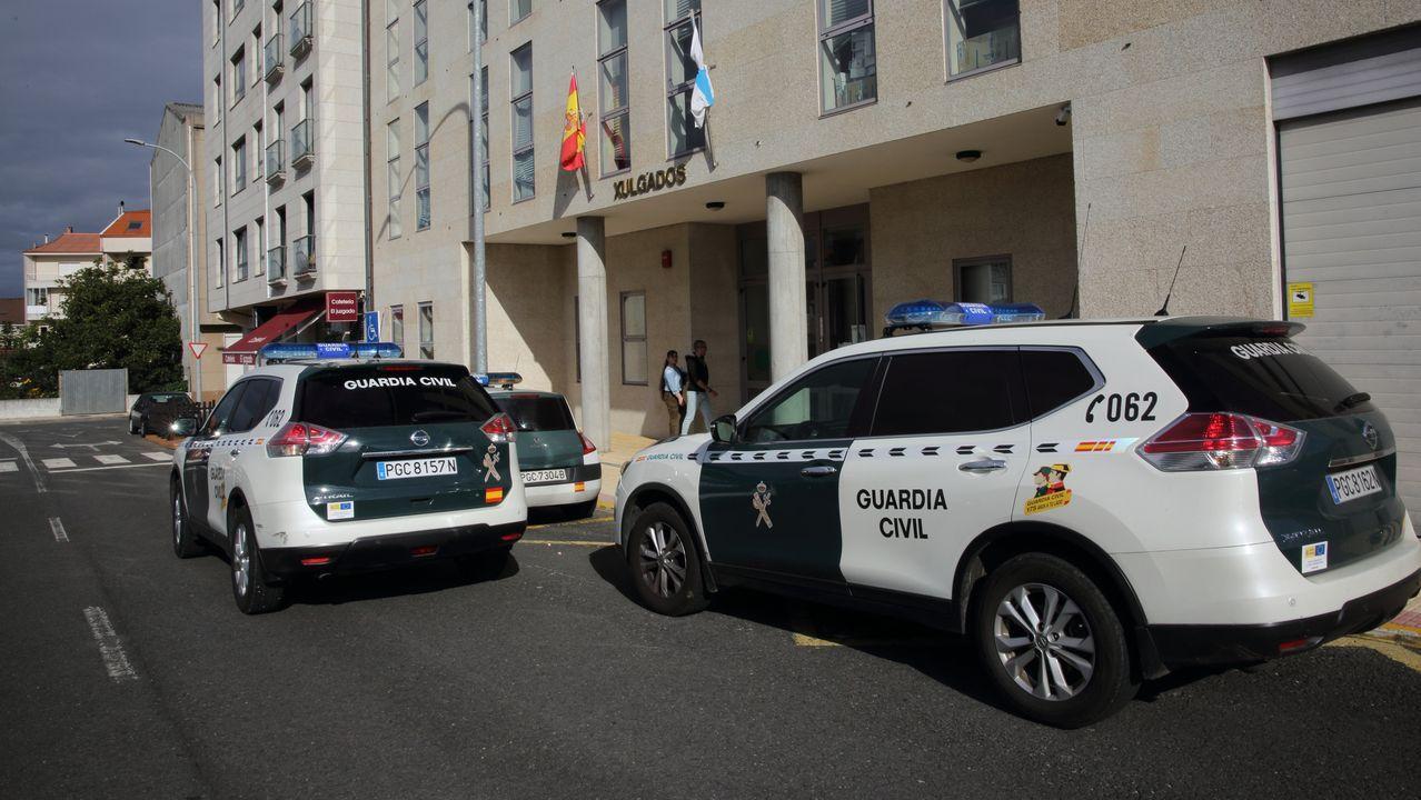 Así ha castigado el temporal a Ourense.El juez Vázquez Taín