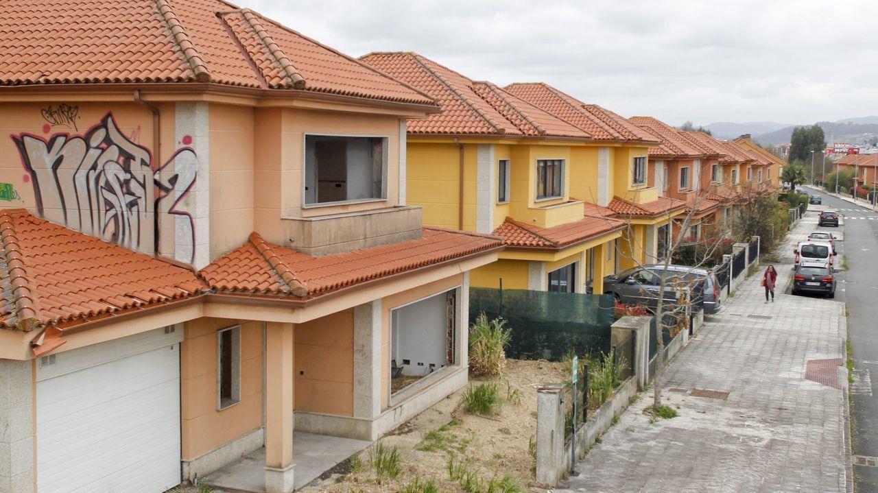 Una de las calles de la urbanización Ciudad Jardín