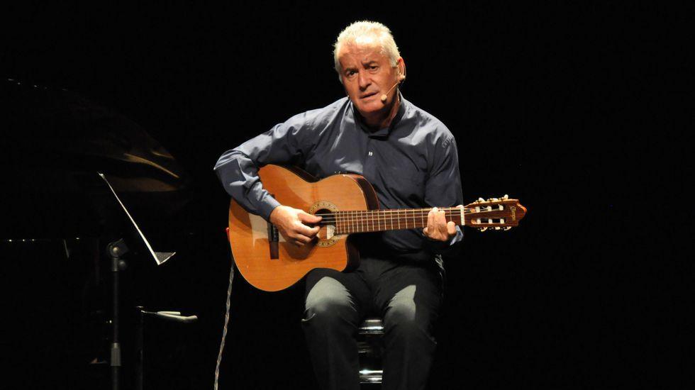 Víctor Manuel recalará en febrero en la capital gallega dentro de su gira «50 años no es nada».