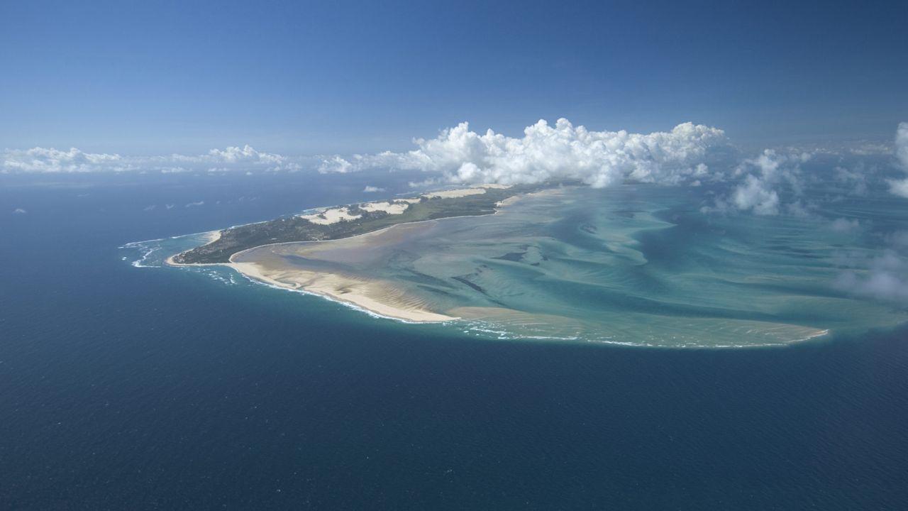 Isla de Bazaruto, en Mozambique