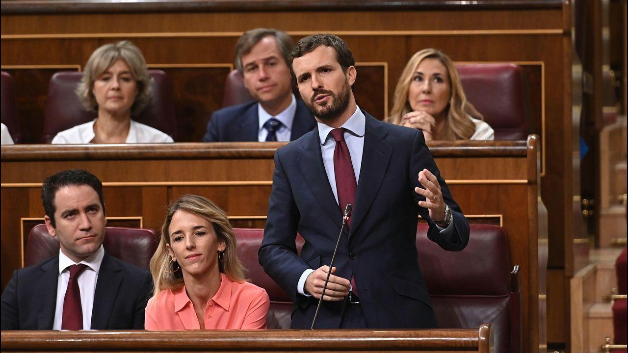 El Tribunal Supremo avala la exhumación de Franco del Valle de los Caídos.Iglesias y Rivera, en la cafetería del Congreso en una foto difundida por el alcalde de Valladolid, Óscar Puente, en las redes sociales