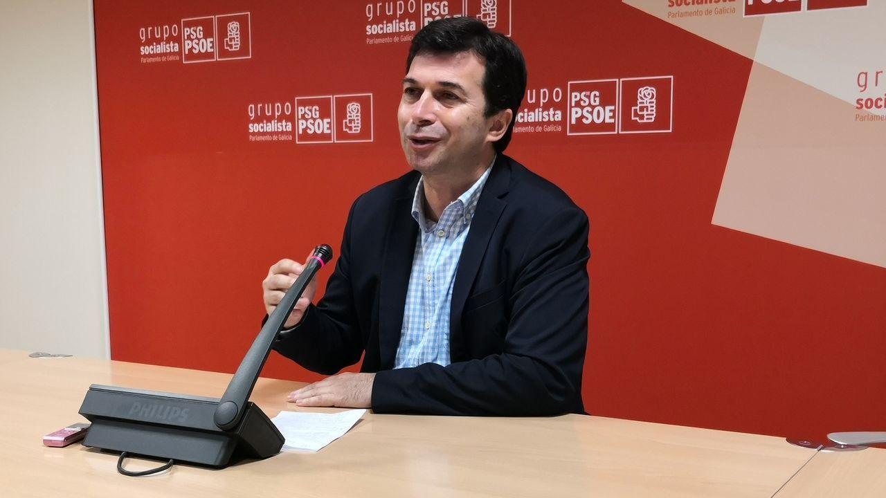 Gonzalo Caballero, secretario general del PSdeG