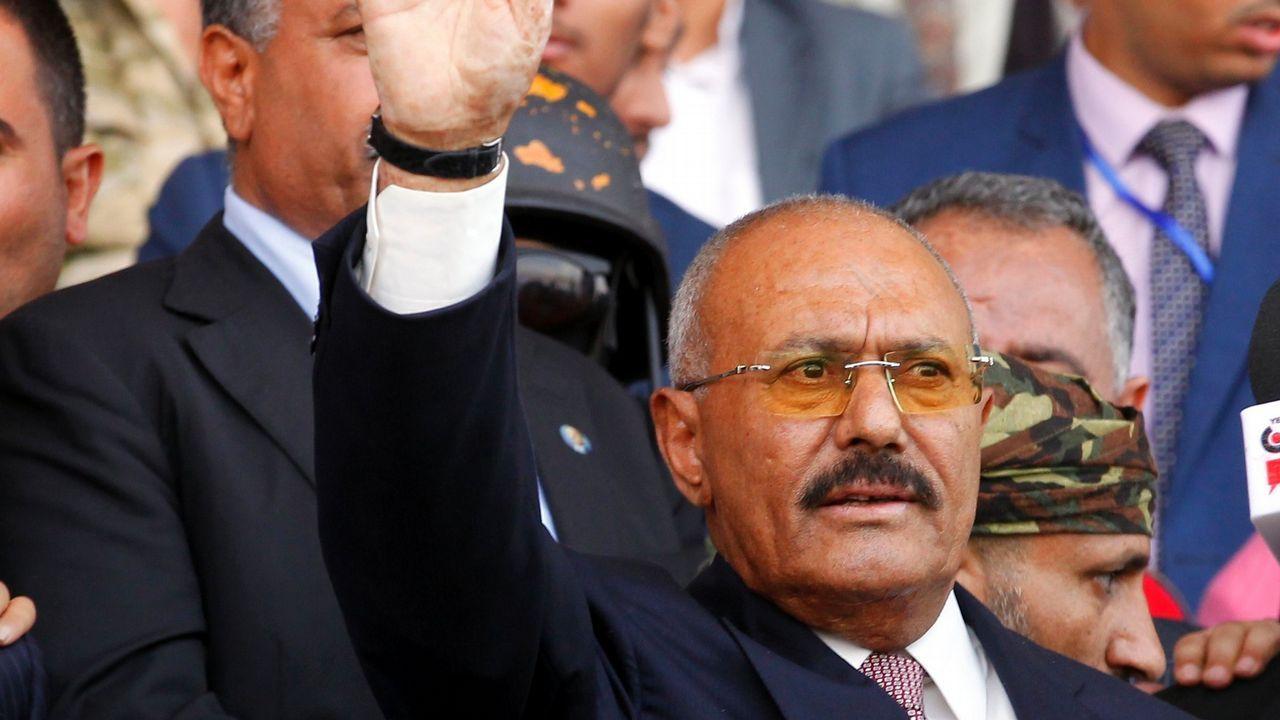 Fotografía de archivo del expresidente Ali Abdalá Saleh