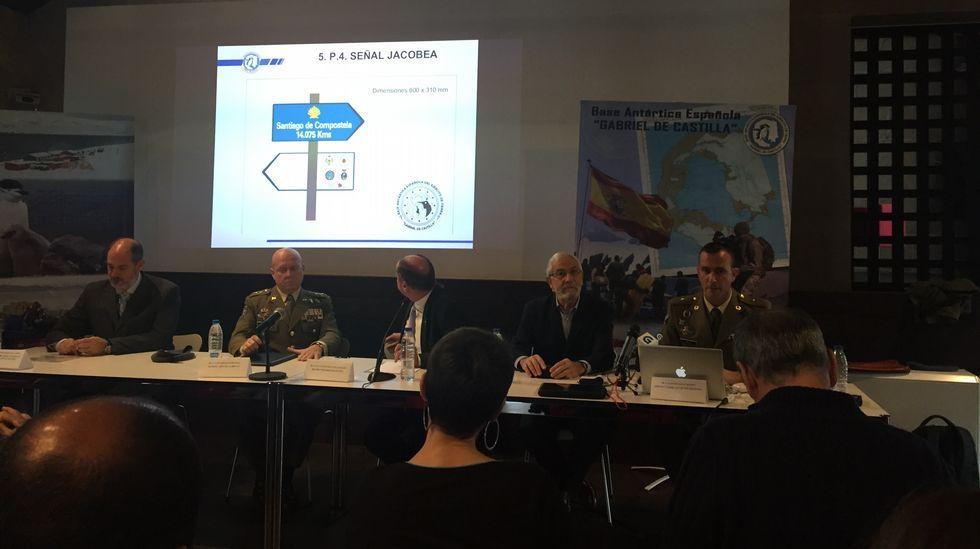 Cedida.El secretario general de la Organización Meteorológica Mundial (OMM), este miércoles en Génova.