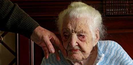 Francisca Barracel es la persona de mayor edad en Galicia: cumplirá 111 años en junio.