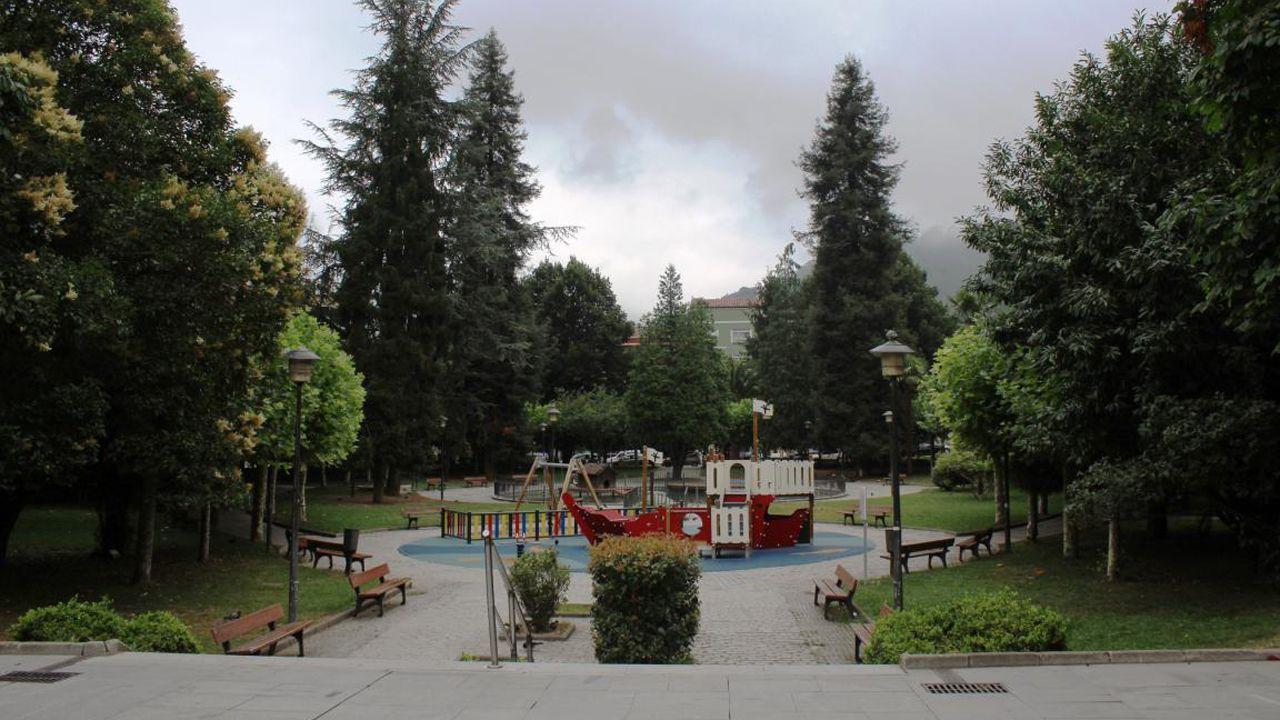 Parque Jovellanos de Mieres
