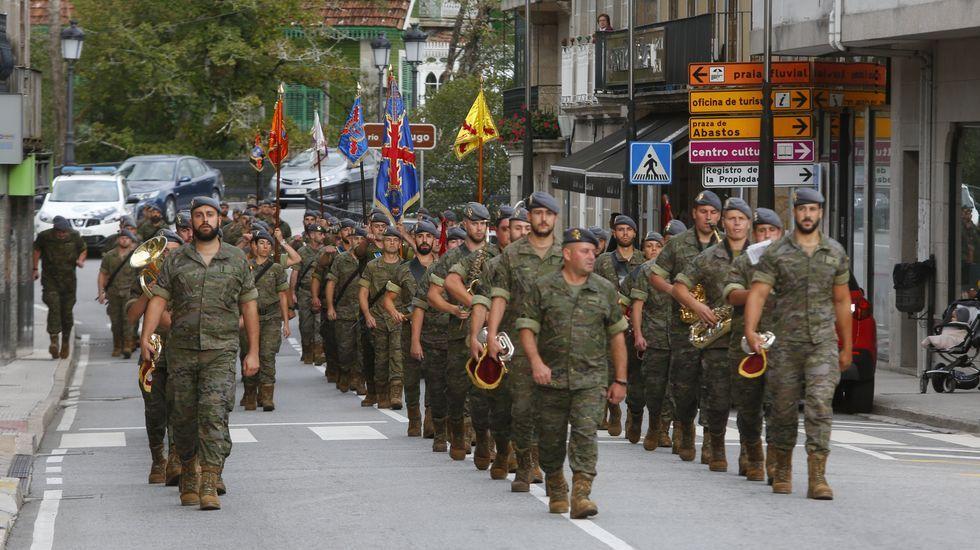La Brilat y la Guardia Civil honran el 210 aniversario de la Batalla del Verdugo en PonteCaldelas.Los cuatro diputados autonómicos de la CUP abandonaron el salón de plenos tras votar las resoluciones como protesta por el mantenimiento en prisión de los líderes independentistas del 1-O
