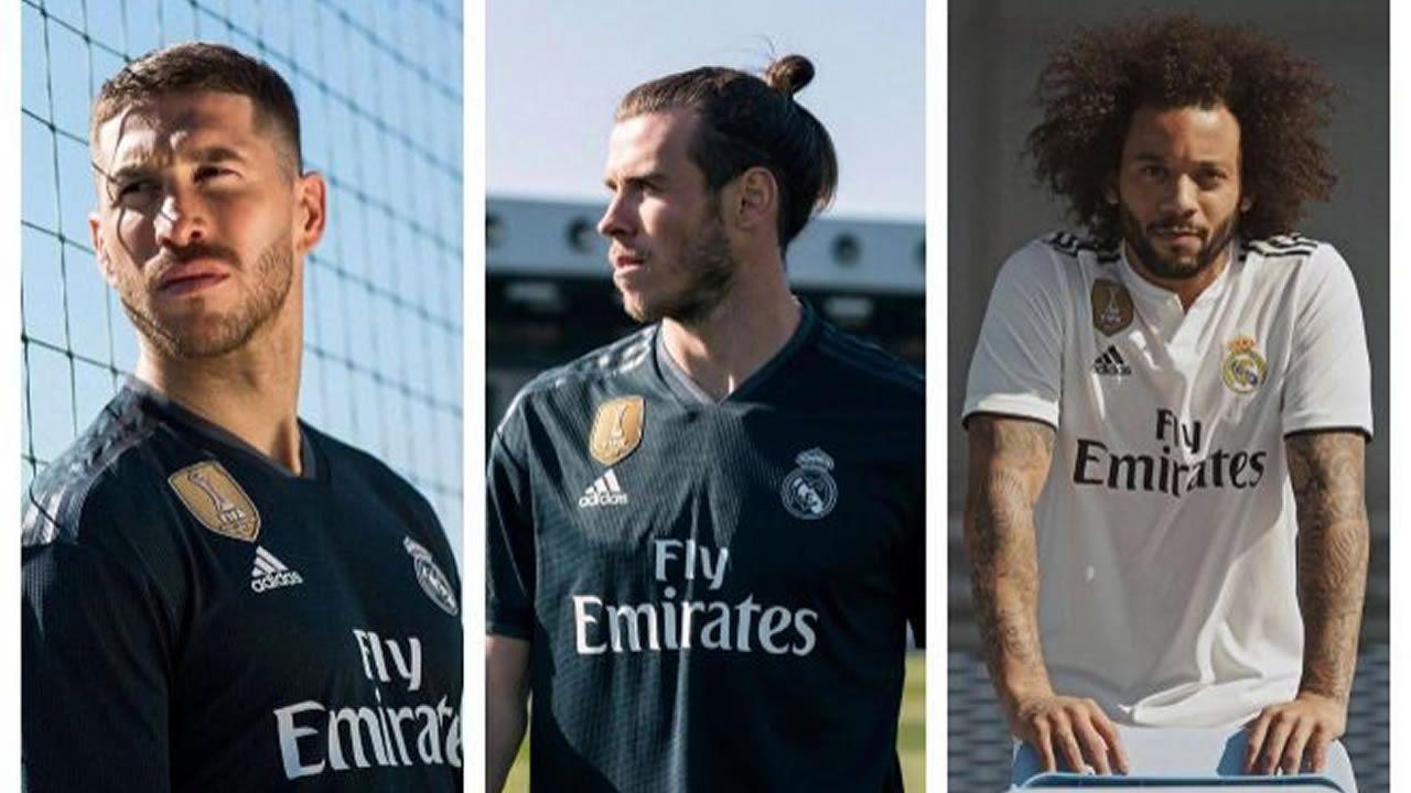 Carlos Tartiere aficion Real Oviedo.Presentación de la nueva camiseta del Real Madrid