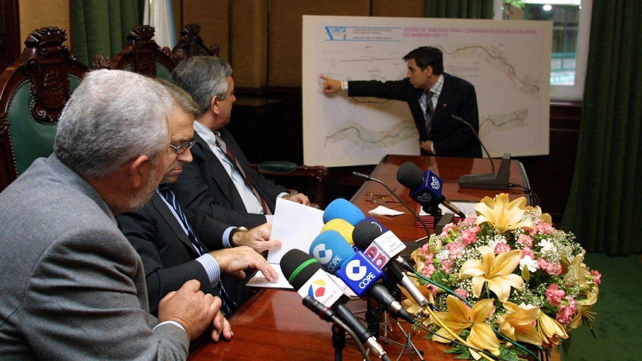 Pablo Crespo, durante su intervención en la comisión