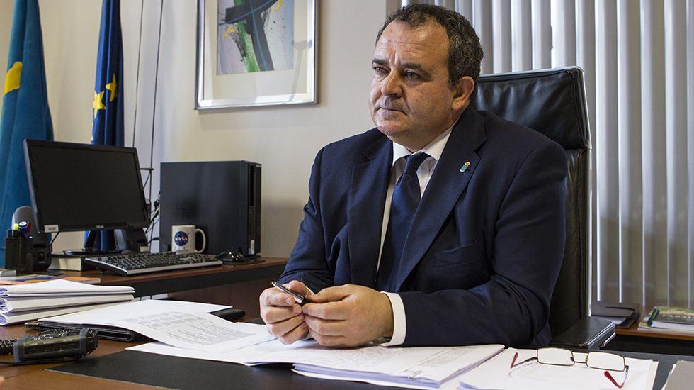 Isaac Pola, consejero de Empleo, Industria y Turismo