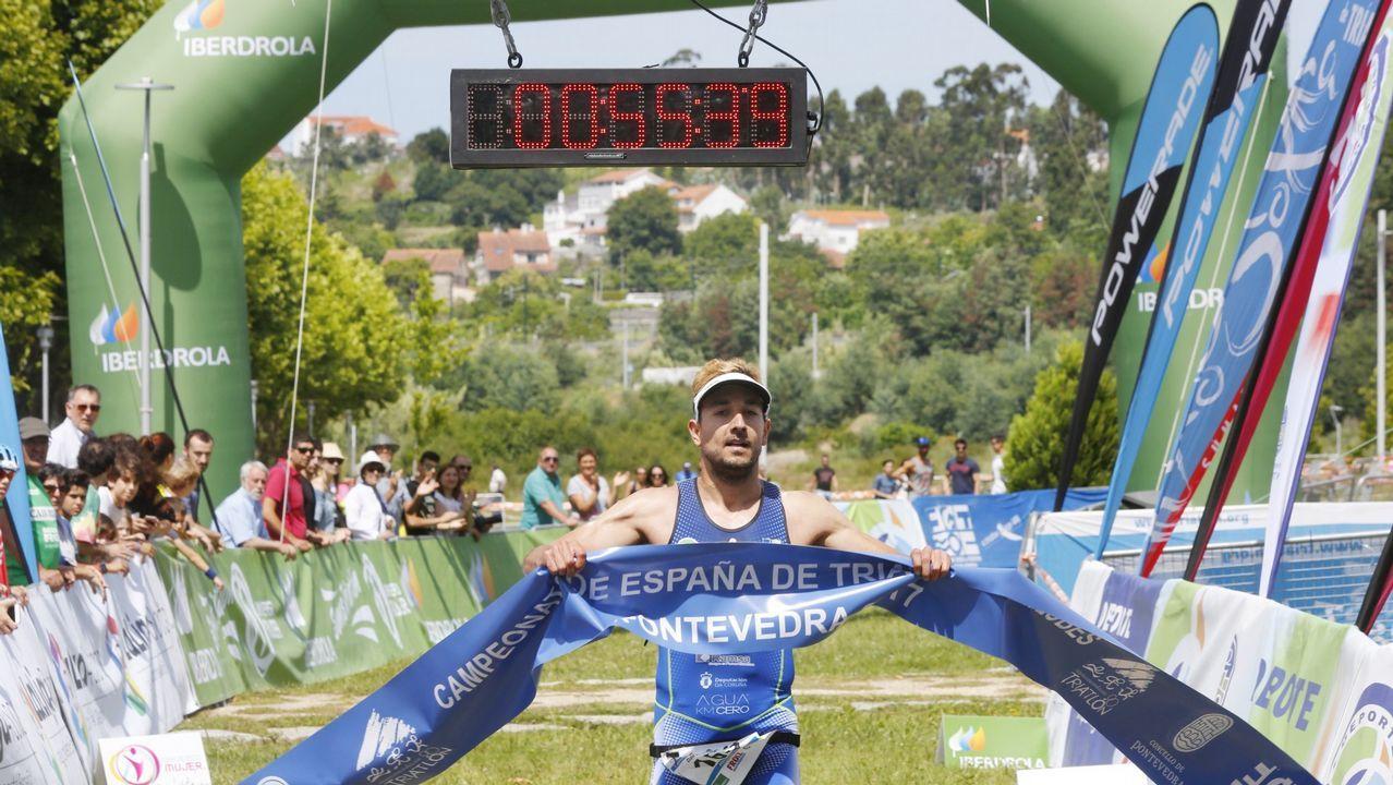 Saleta Castro se impone en el Ironman de Maastricht