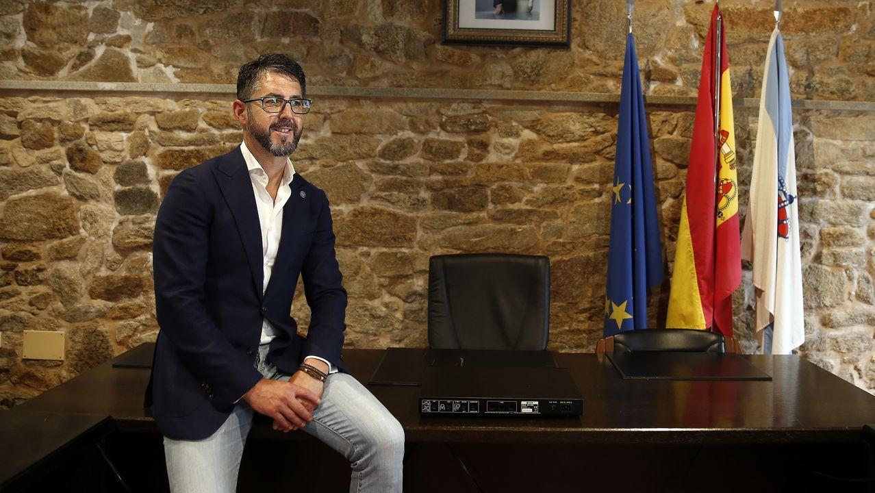 Abel Caballero y el alcalde de Valladolid, en foto de archivo en Vigo, reclamaron a Sánchez que el Gobierno desbloquee los fondos