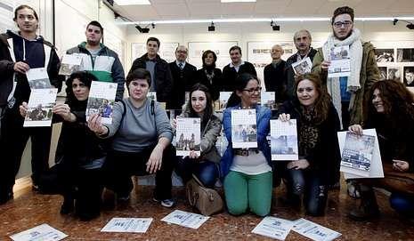 En Lugo se editó un calendario solidario.