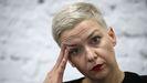 Maria Kolesnikova, una de las caras de la oposición en Bielorrusia