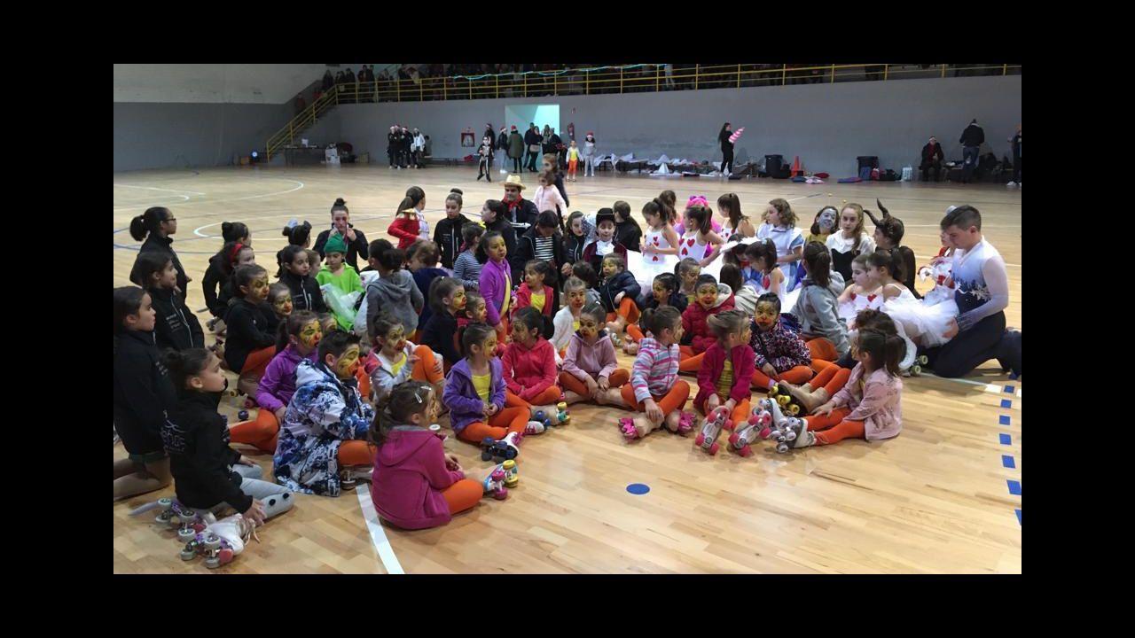 Navidad en Ourense.Gala de Navidad del Club Aehde Carballiño