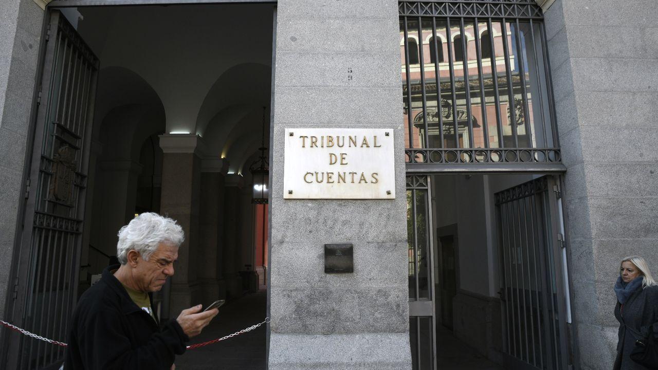 Imagen de la fachada del Tribunal de Cuentas en Madrid