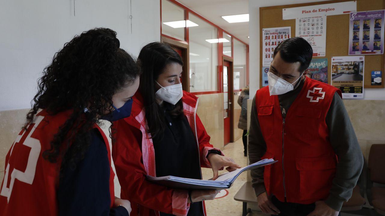 450 ourensanos prestaron sus servicios como voluntarios durante este año de pandemia