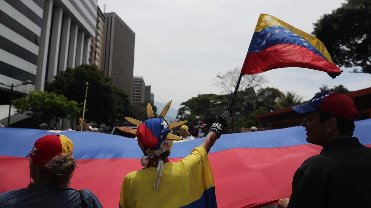 Gala de los Emmy 2019.Manifestantes en las calles de Venezuela