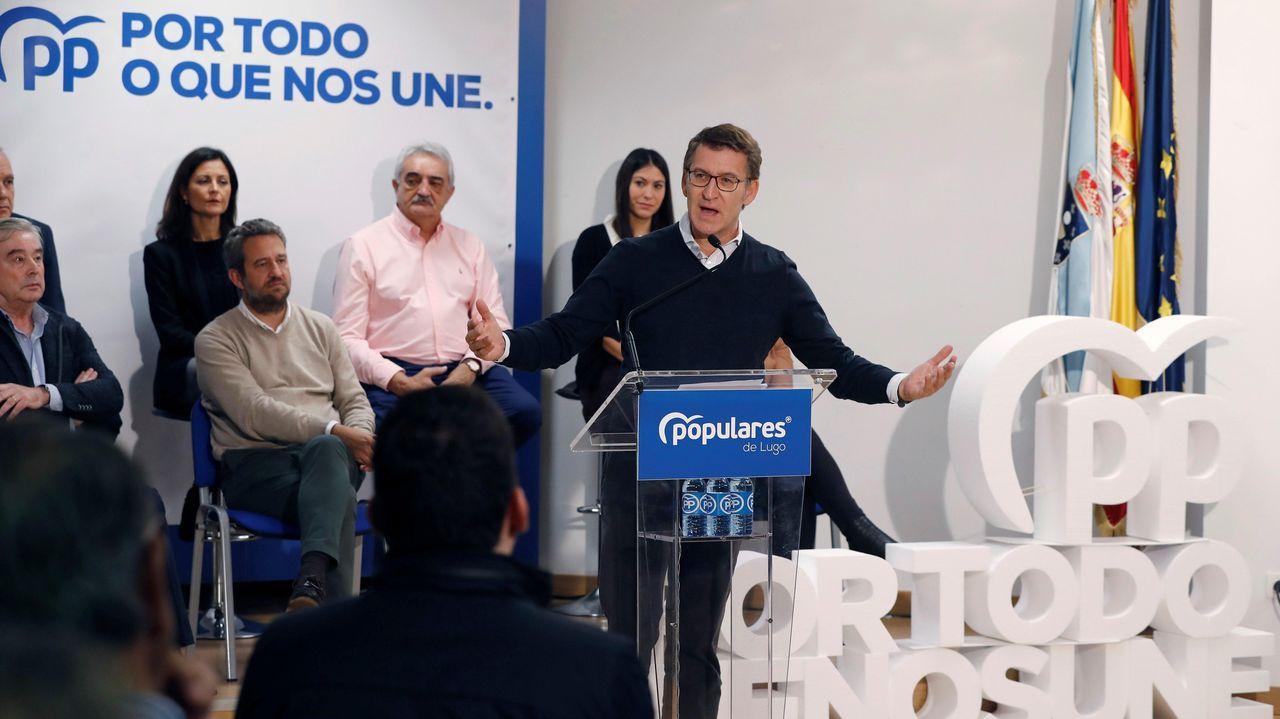 El diputado del Partido Regionalista Cántabro (PRC) en el Congreso de los Diputados, José María Mazón, interviene en la segunda sesión del debate de investidura del candidato socialista a la Presidencia del Gobierno