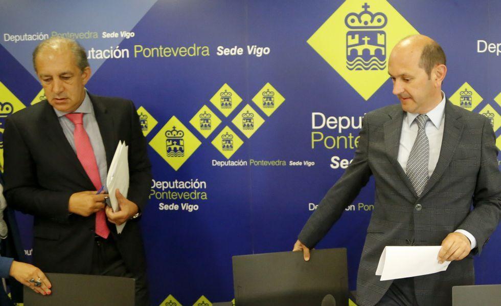 Figueroa y Louzán encauzaron el convenio antes de irse.