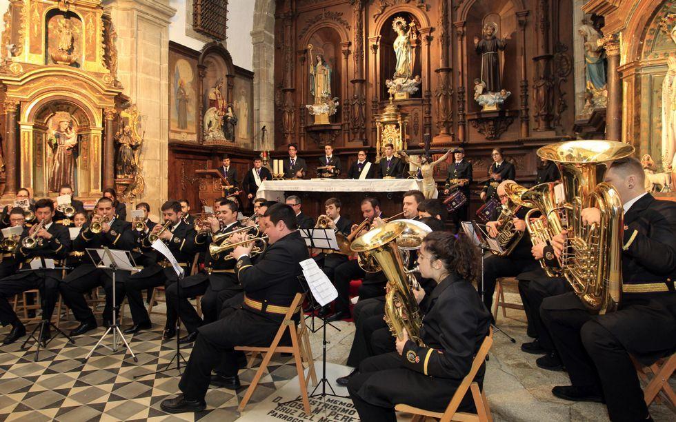 Concierto ayer de la Banda Nuestra Señora de la Misericordia.