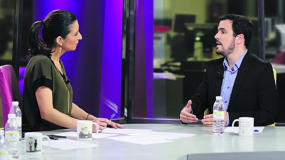 «Vía V» Entrevista a Alberto Garzón