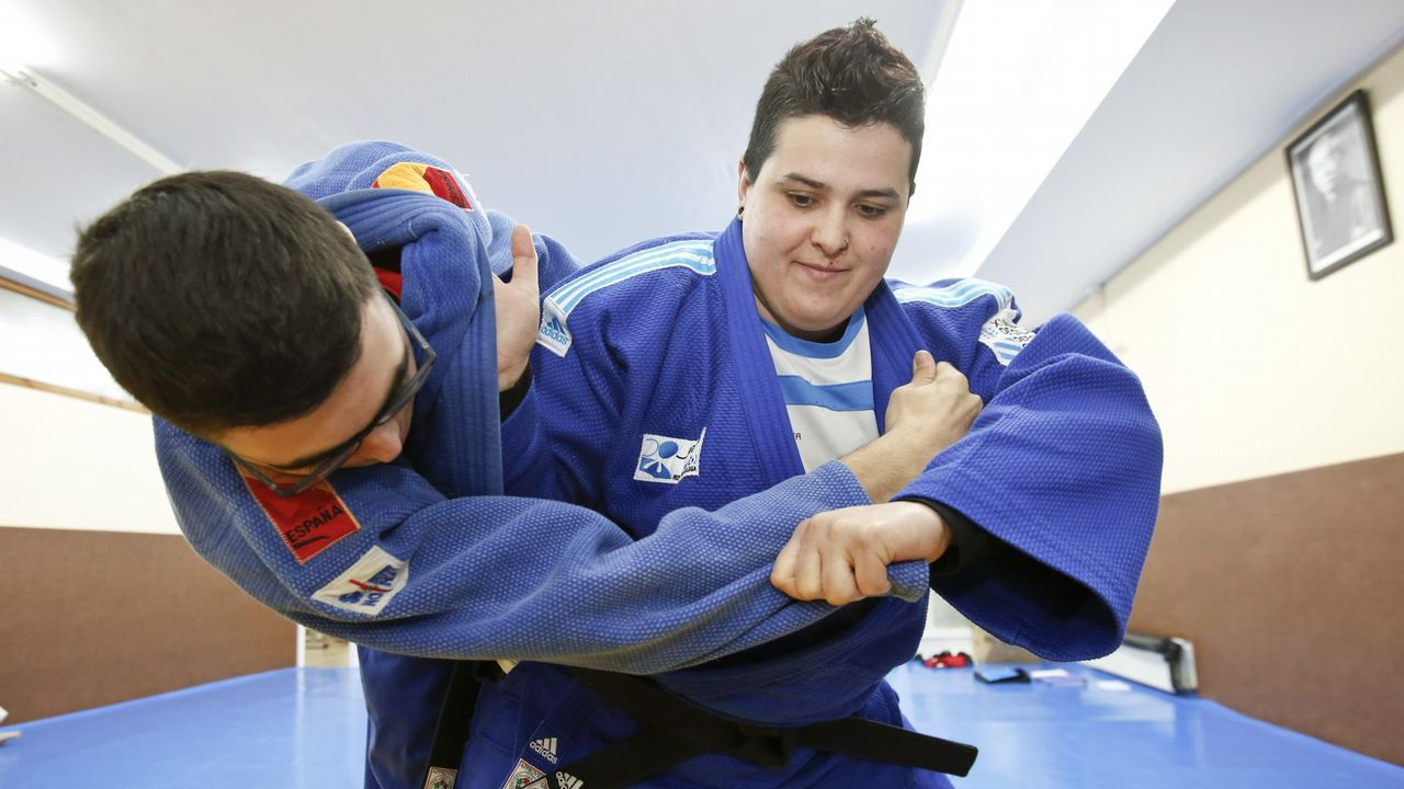 Sara Álvarez. Regresó a la competición tras un impás y fue hace poco plata en el Abierto Europeo de Sofía de yudo.