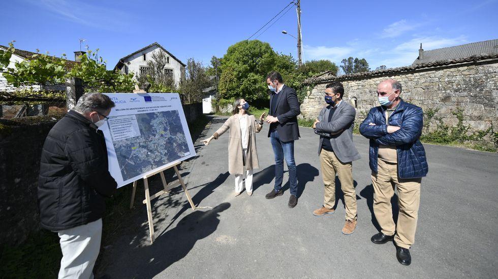 En marcha la ampliación del Ifevi en Vigo.La ruta culminaría en el extremo derecho de la playa de Bares