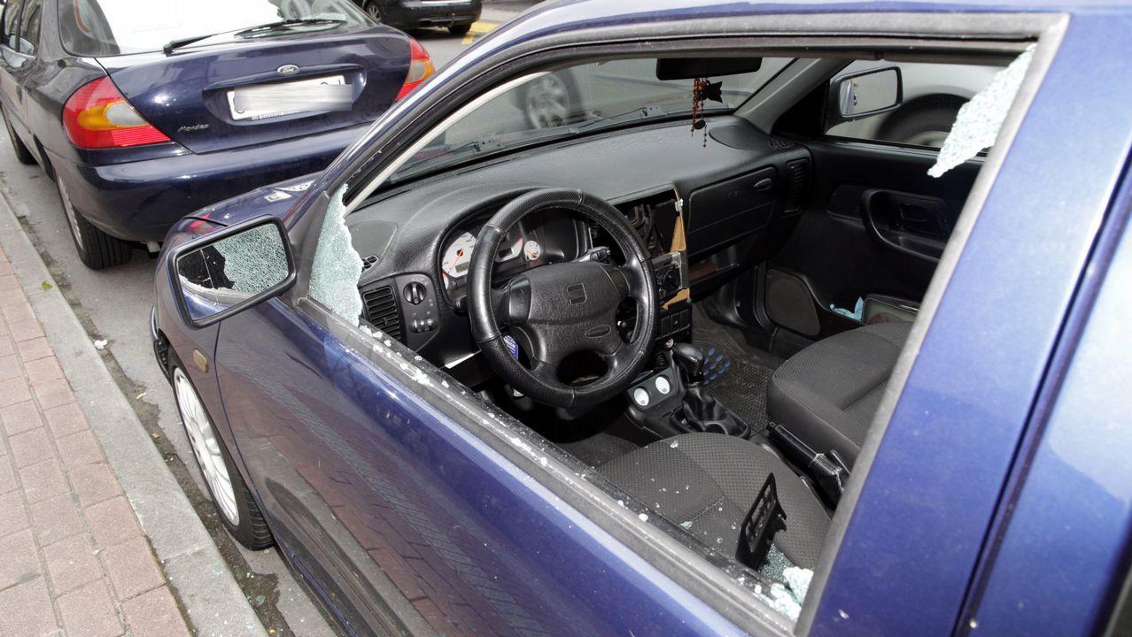 Revólver incautado por la Guardia Civil en Villanueva de Oscos