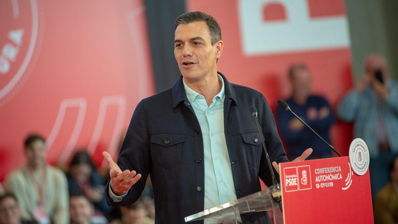 Pedro Sánchez apela a la España «cabal» para que «gane el sentido común»