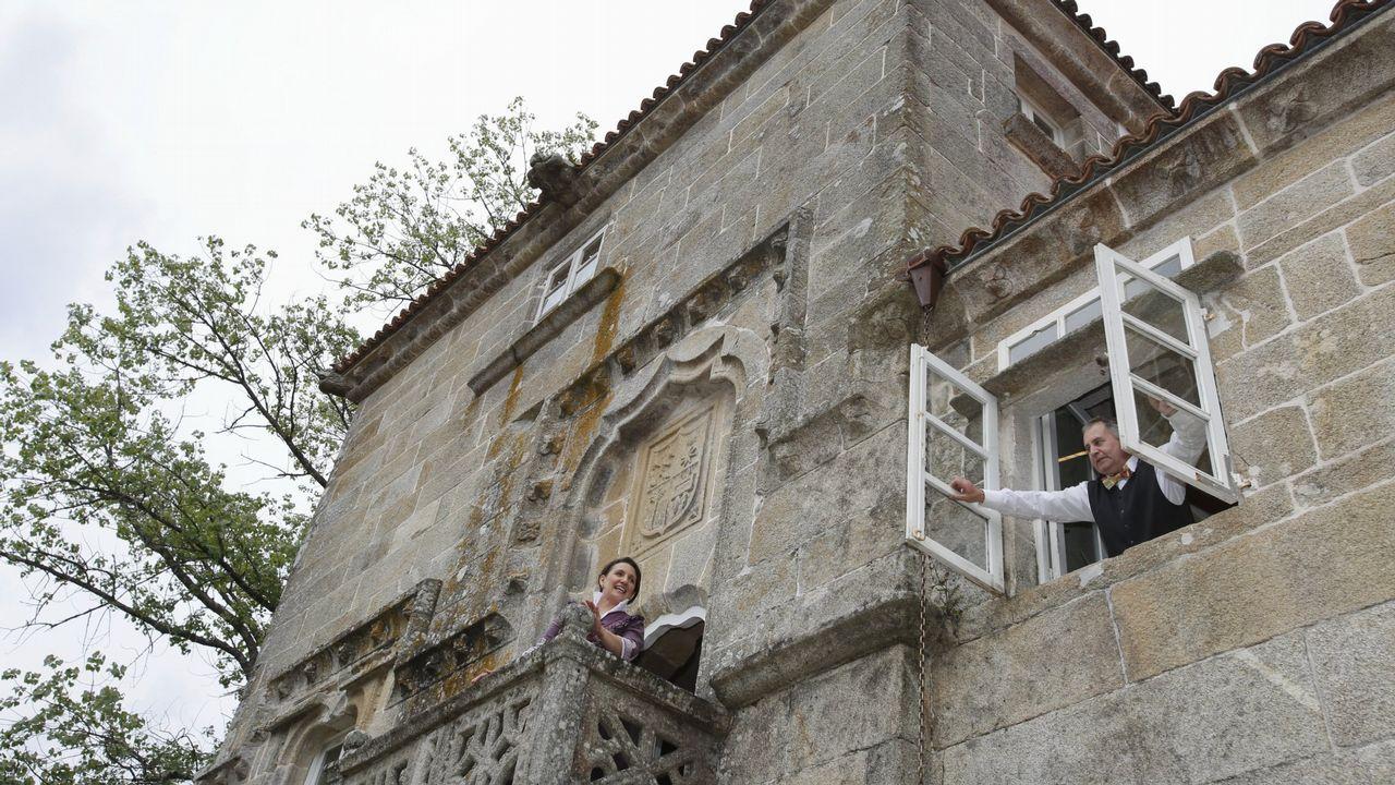 Tero Rodríguez, no papel de Silvina, en Moraime (Muxía)