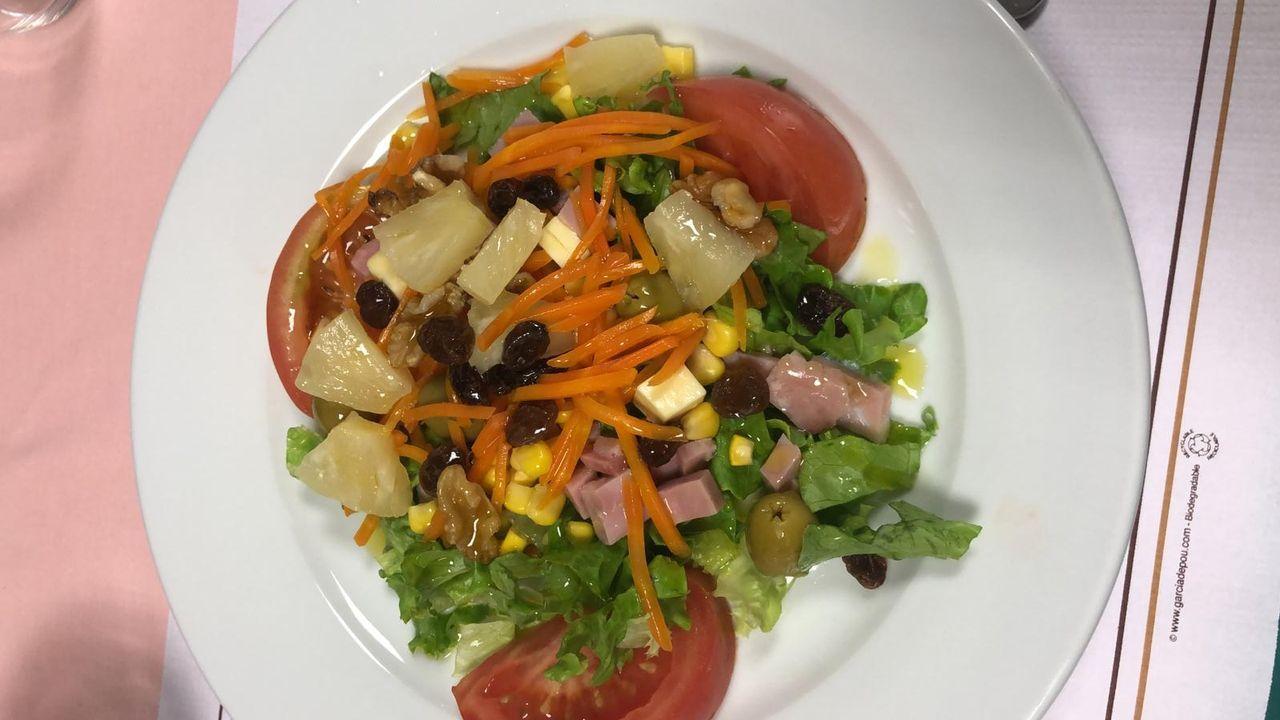 Prácticamente todos los comedores ofrecen la posibilidad de cenar una ensalada completa, aunque no desde hace demasiado tiempo
