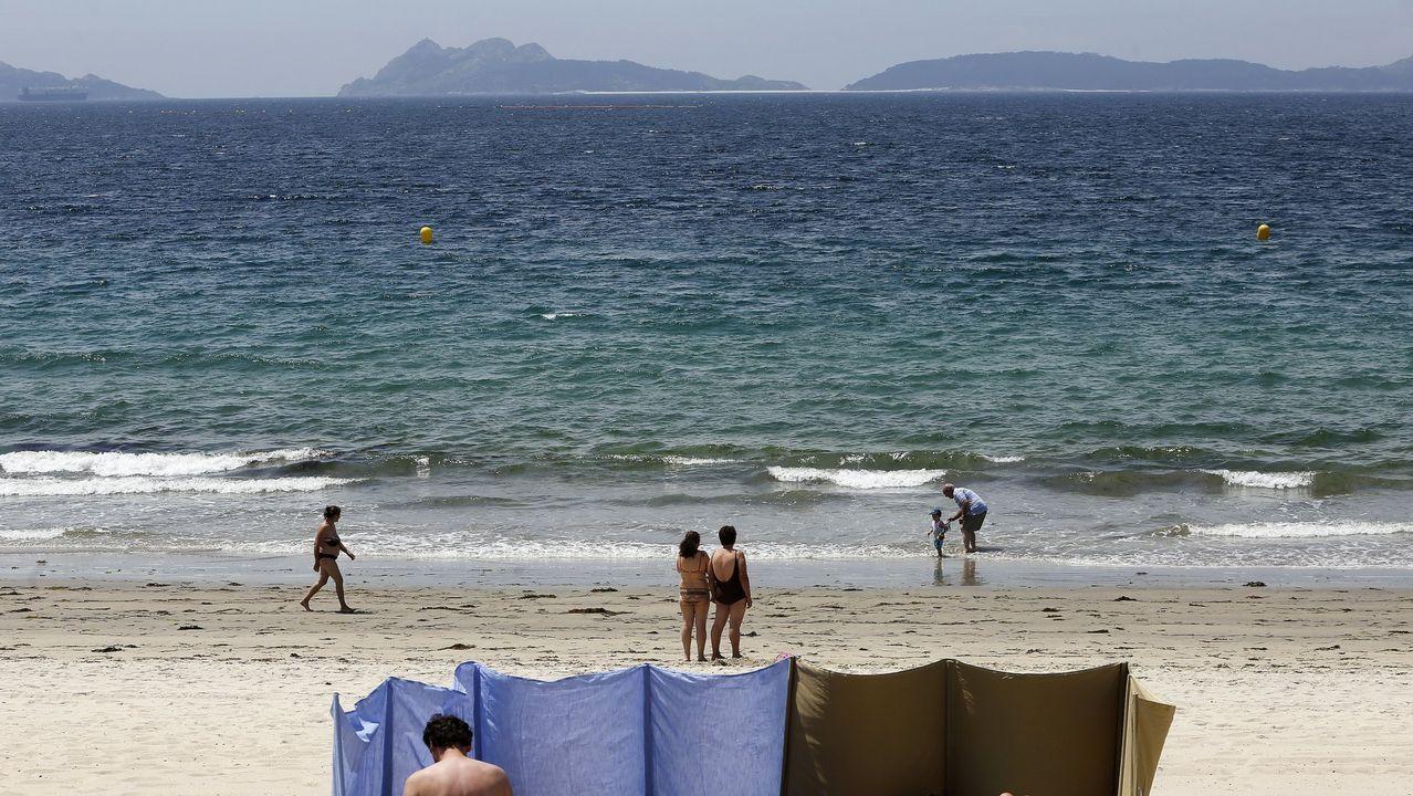 Samil, la playa por excelencia de Vigo, supera las 2.500 menciones en Instagram