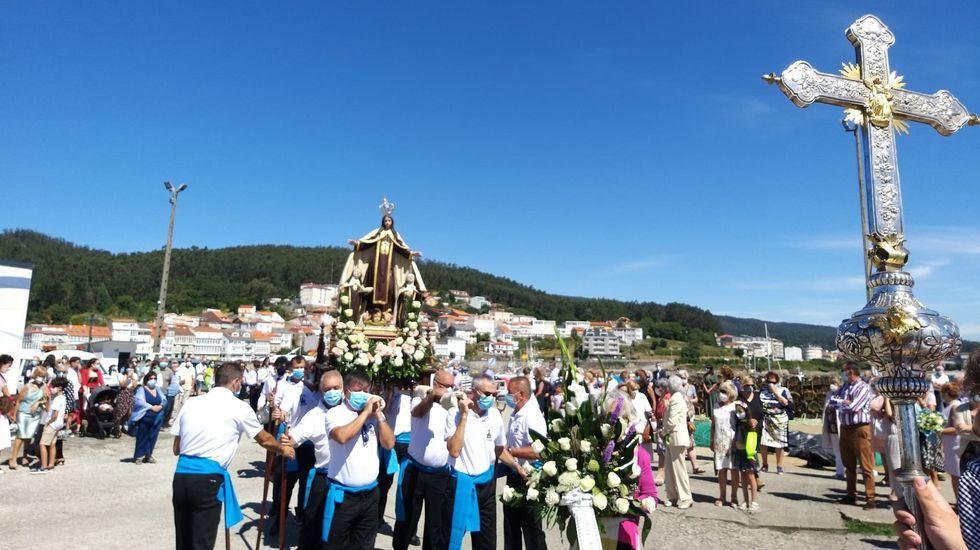 Día del Carmen en Corcubión