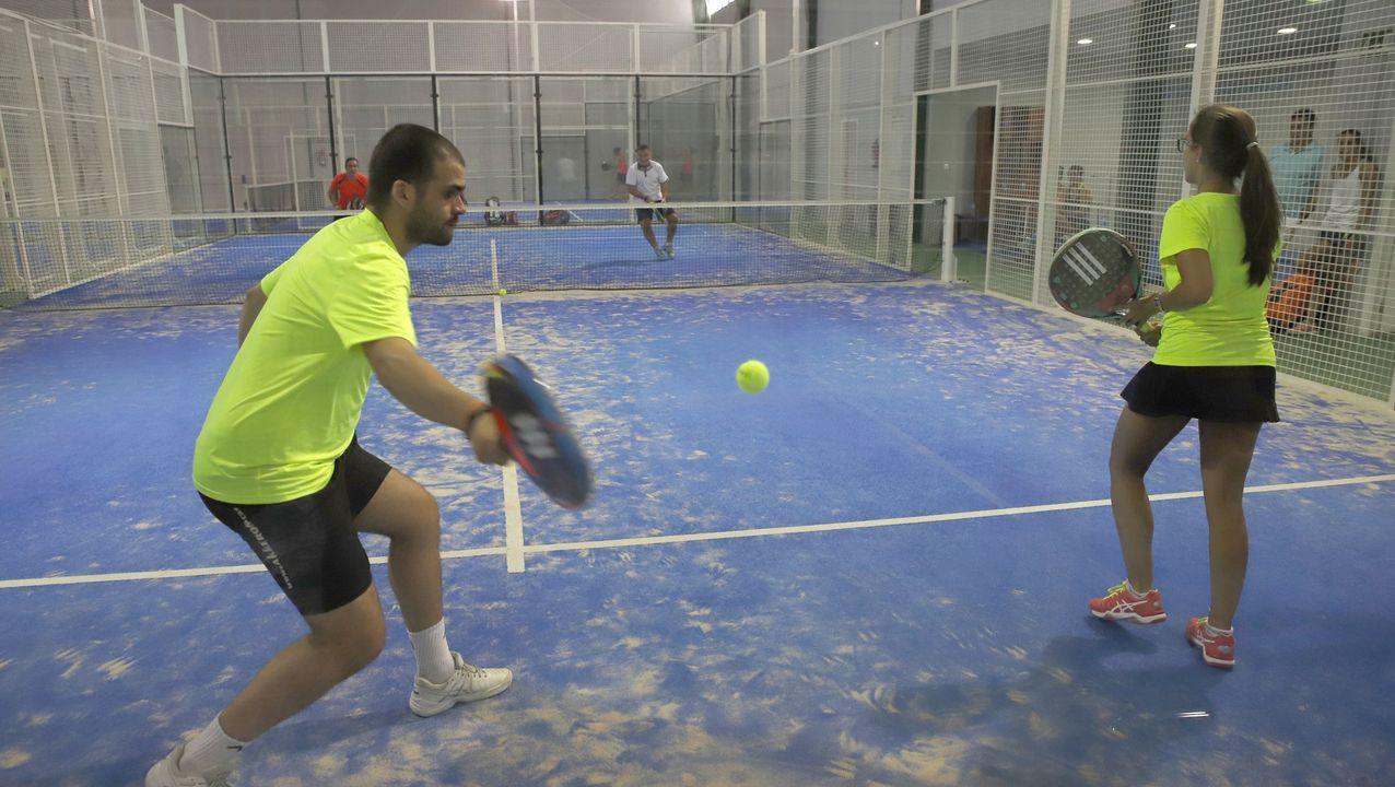 Centro de raqueta de Coroso