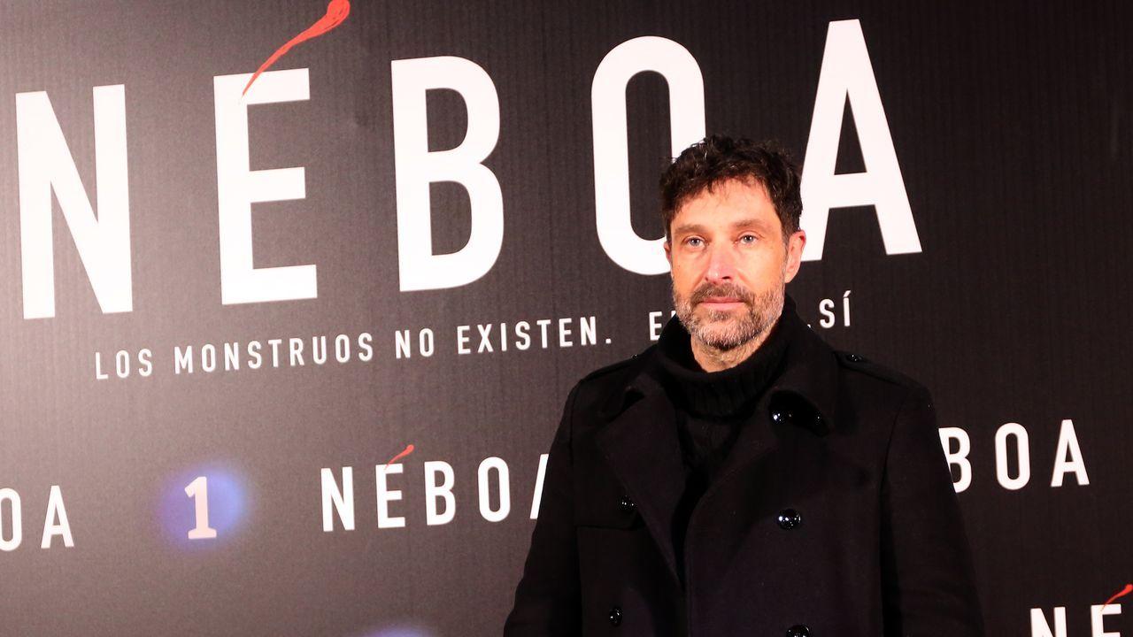 El actor Miguel Ángel Blanco, que hasta hace unas temporadas interpretaba a Diego Bazán en «Serramoura»