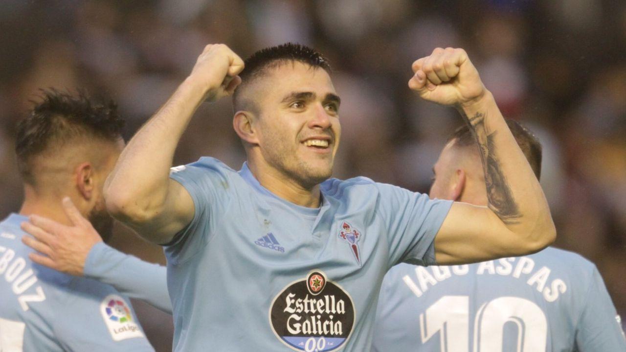 Las mejores imágenes del Celta - Valencia