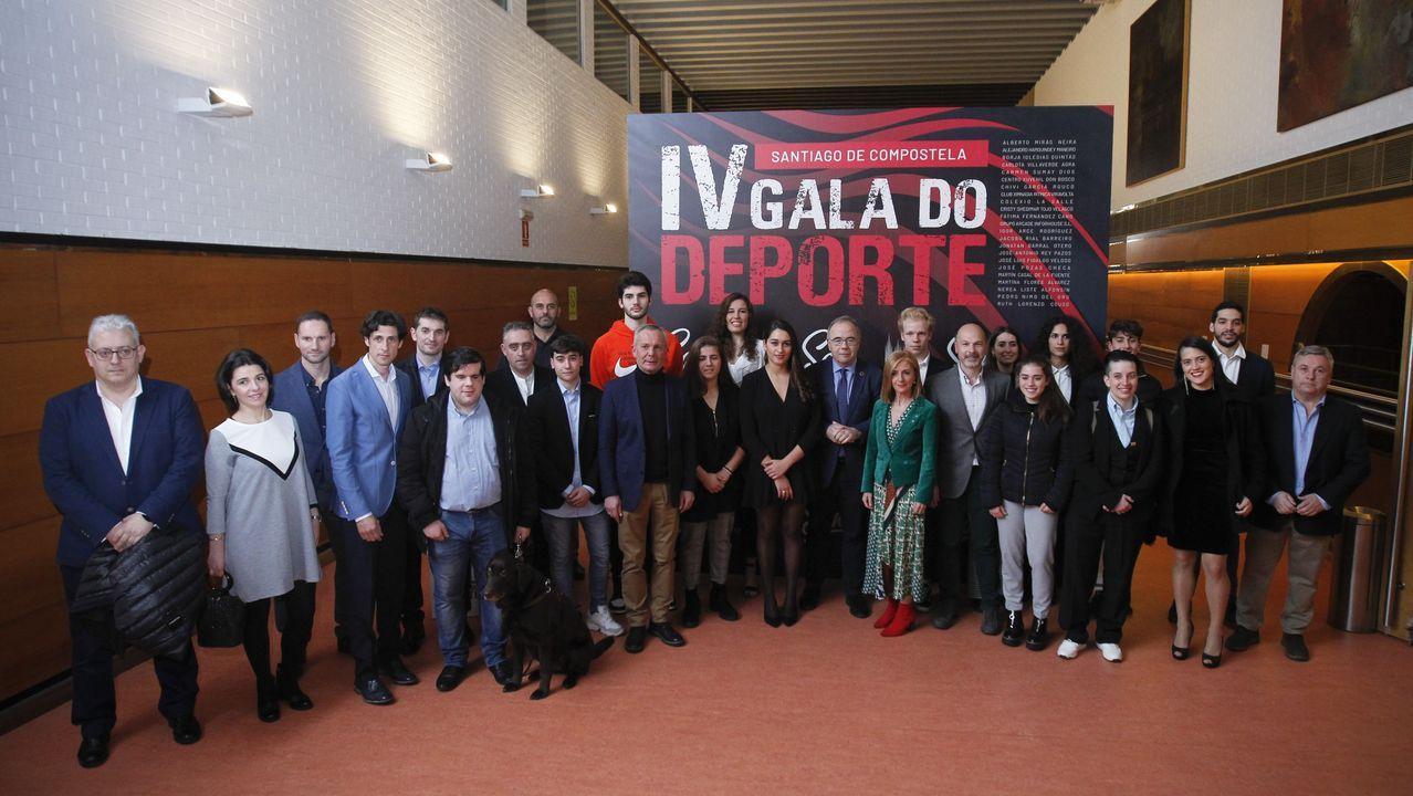 Compostela premia a los deportistas del 2019