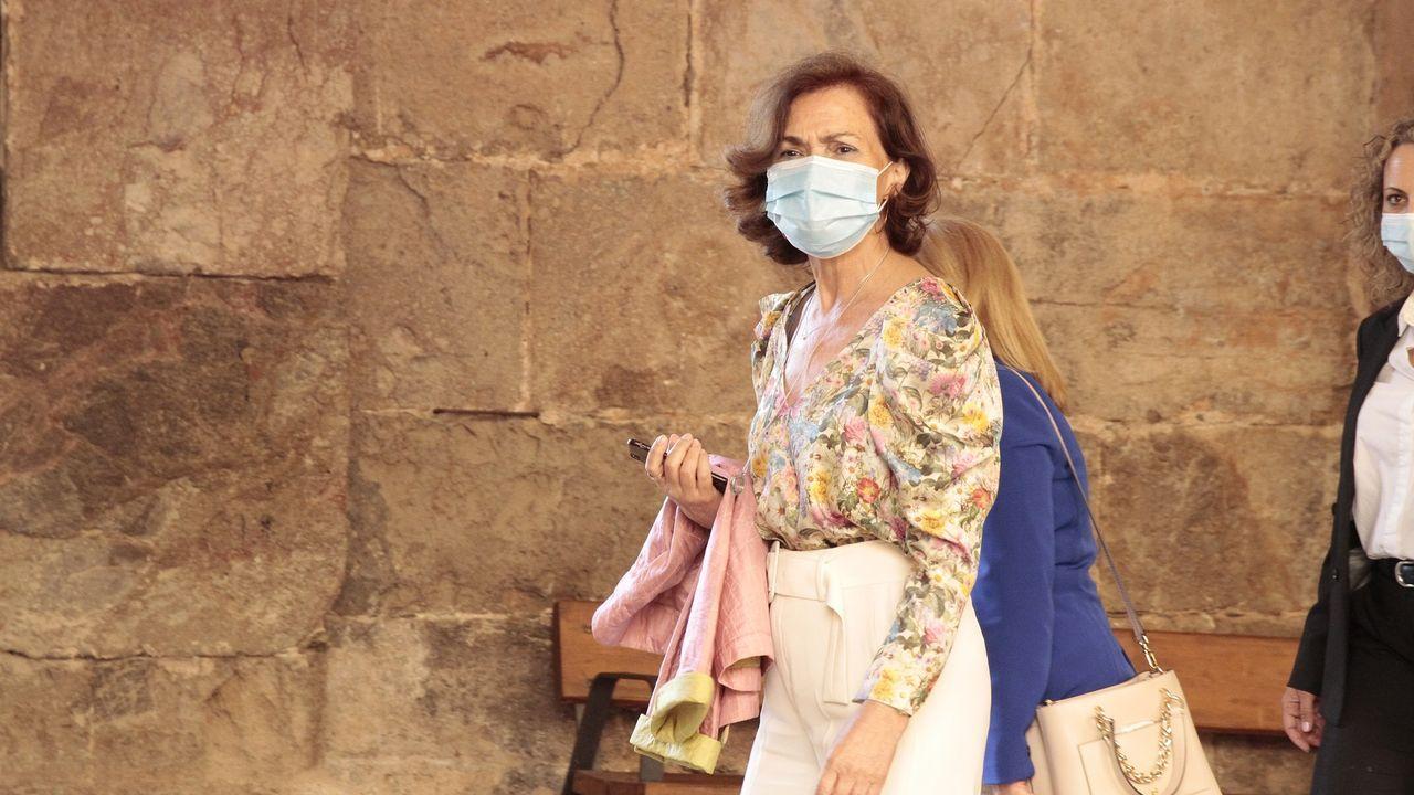 Foto de archivo de la vicepresidenta primera del Gobierno, Carmen Calvo.