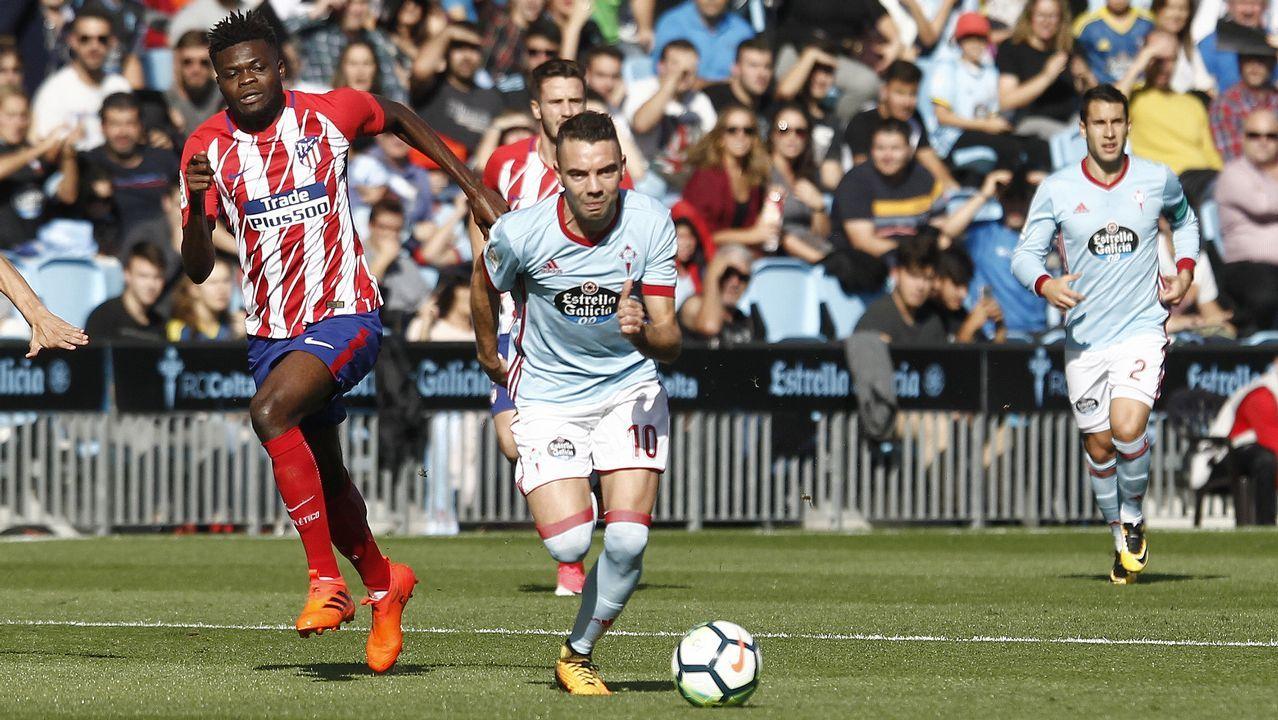251 - Celta-Atlético (0-1) en Primera el 22 de octubre del 2017