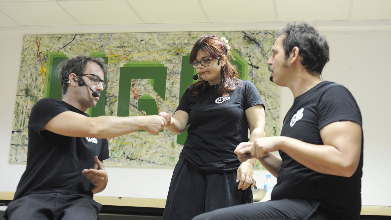 ?Arte?n?rúa?, espectáculo de la MOTI.Congreso Musapalabra en el Museo Provincial de Lugo