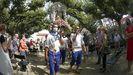 ¡Mira aquí las imágenes de la misa y la procesión de la Guadalupe en Rianxo!