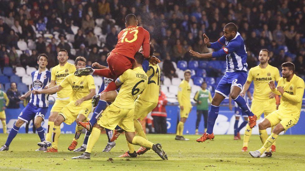 El Deportivo-Villarreal, en fotos