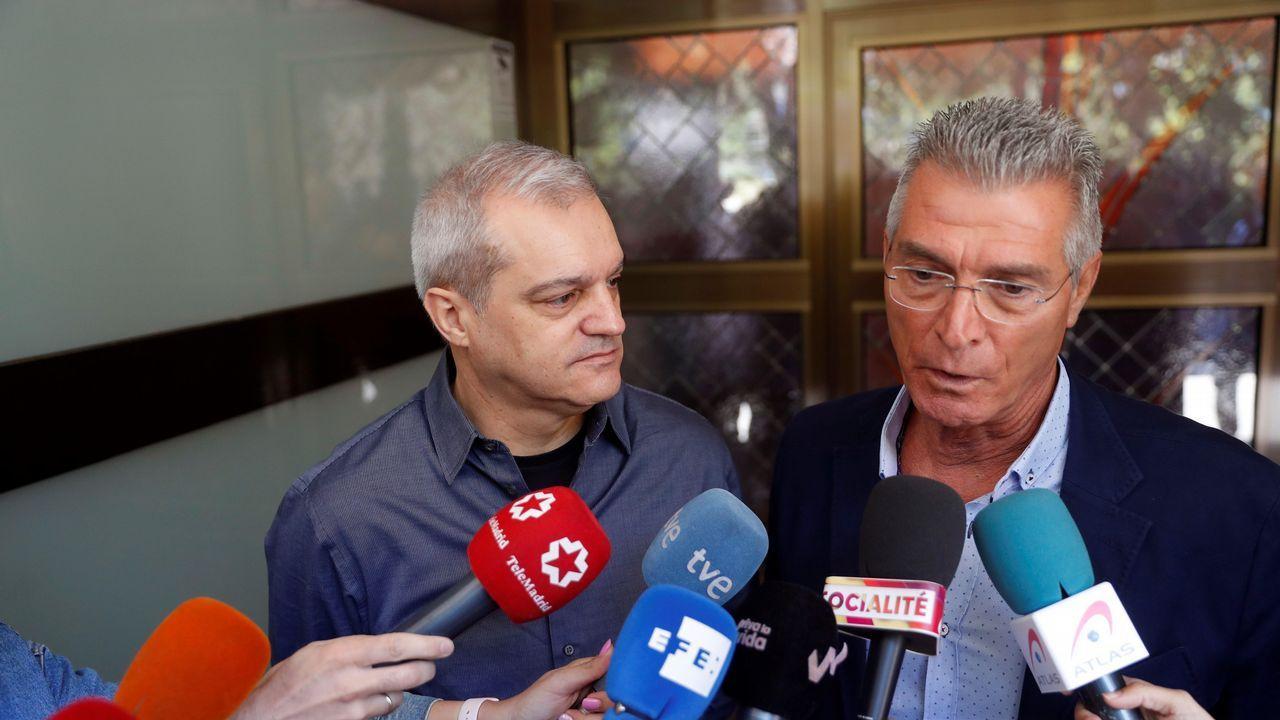 Ramón García y Manolo Sarriá