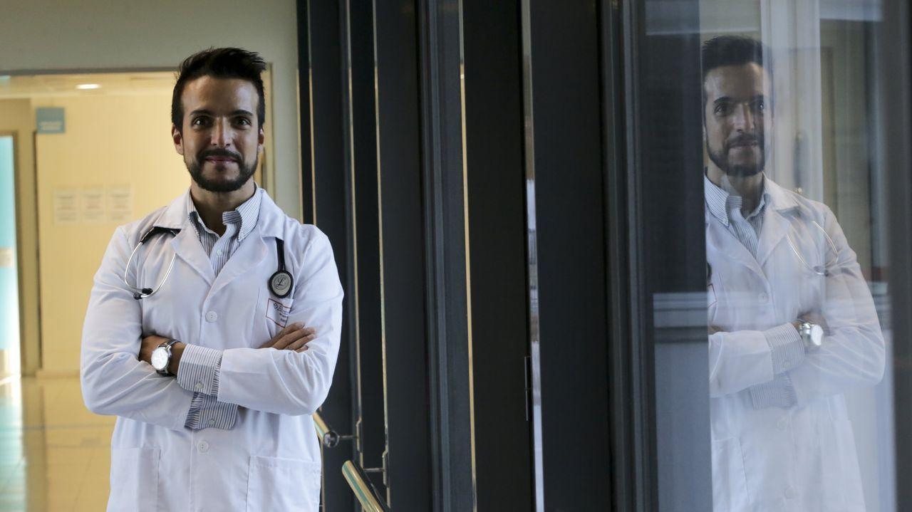 El equipo de neumología del Chuvi, estrena una nueva técnica pionera en Galicia.Vista del Hospital Universitario Central de Asturias (HUCA)