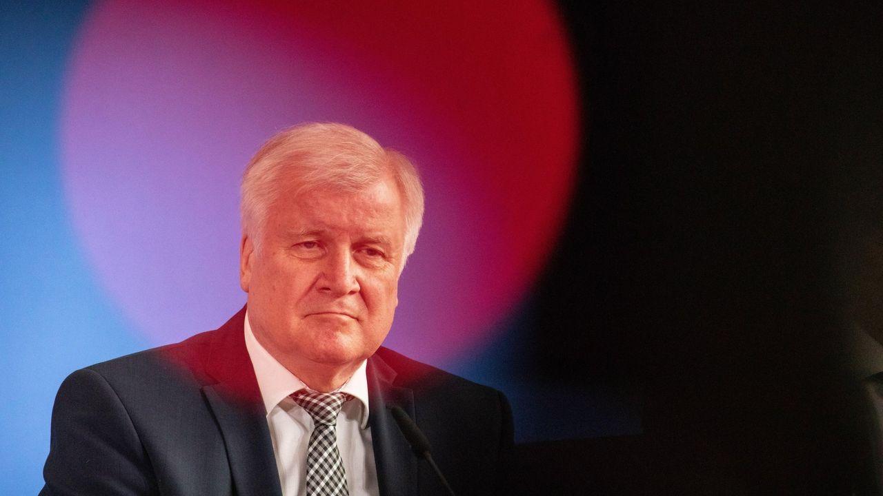 El ministro alemán del Interior, Horst Seehofer, anunció la detención del asesino de Walter Lübcke
