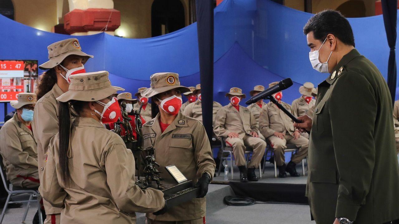 Nicolás Maduro envió un grupo de mil combatientes de la Milicia Nacional, una unidad de civiles afectos al chavismo, uniformados y armados,  al estado fronterizo de Apure, donde el pasado mes de marzo, estallaron combates con una banda de disidentes de las FARC.