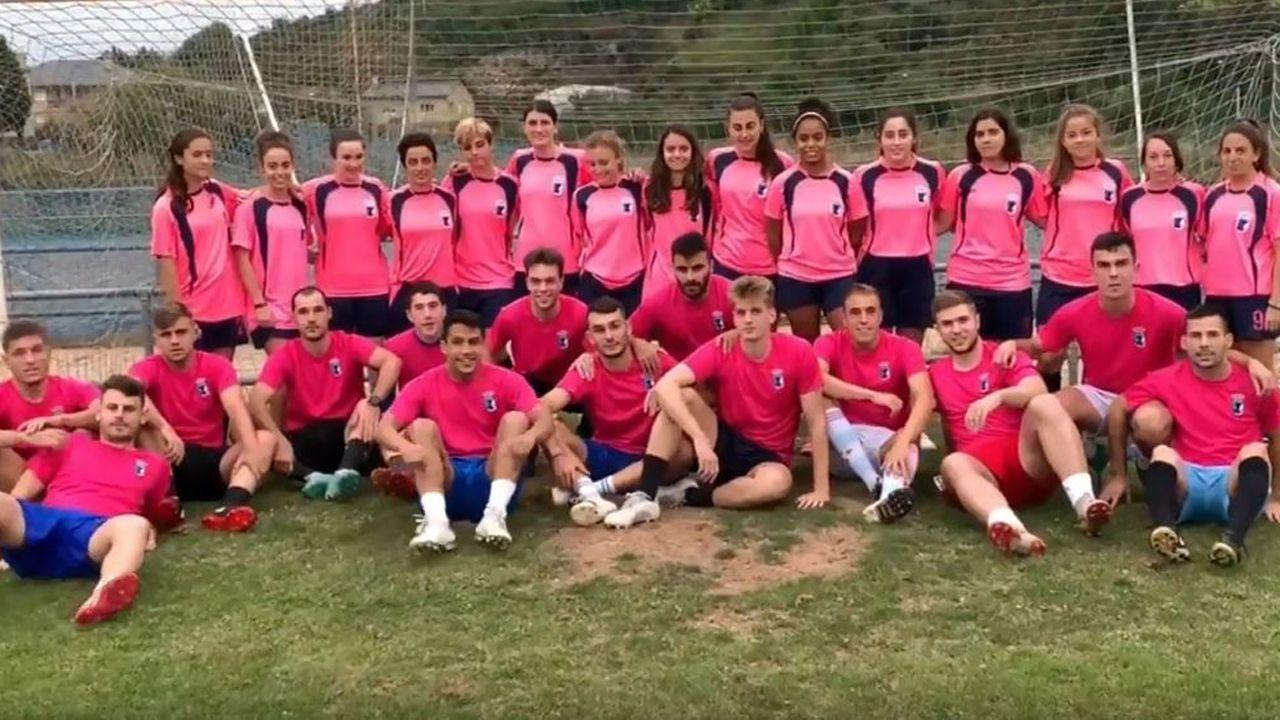 Varios equipos del Real Tapia CF