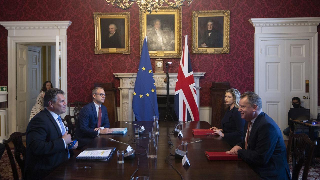 Los negociadores de la UE y del Reino Unido