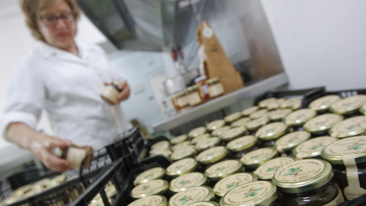 La fárica de quesos de Casa Macán tiene parada la producción desde el lunes